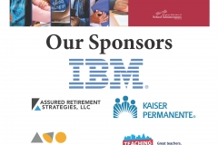 Convention Placard Sponsors